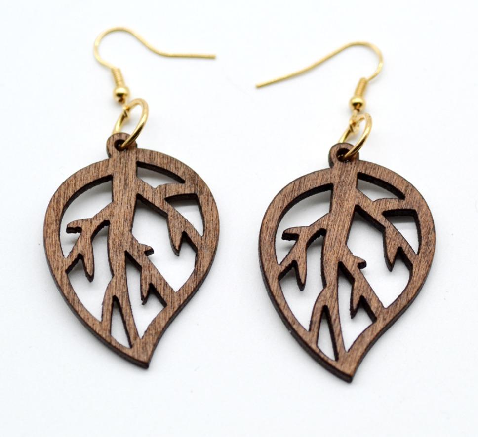 7d821f15a91c34 Wooden earrings